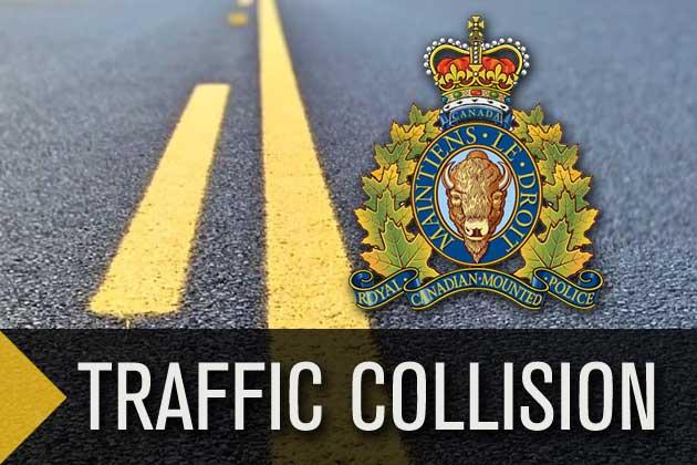 rcmp traffic collision